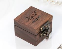 Wedding Ring Box by Wedding Ring Box Etsy