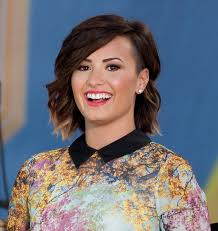 Short Hairstyle Ideas 2014 by 11 Things You Should Never Put On Your Face Demi Lovato Short