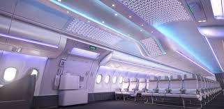 airbus debuts new a330neo interior in hamburg air transport news
