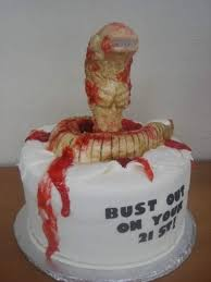 Movie Themed Cake Decorations Deliciously Wicked Horror Movie Themed Cakes Wicked Horror