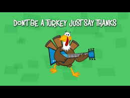 don t be a turkey yancy you with this song about