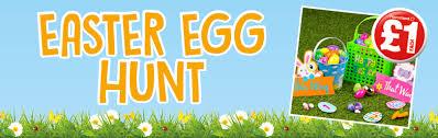 Easter Hunt Decorations by Easter Egg Hunt