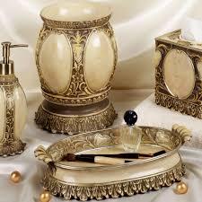 gilded bird ceramic bath accessories bathroom decor
