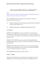 Real Estate Prospectus Template by Asset Management Services Agreement1067 Thumbnail 4 Jpg Cb U003d1272602092