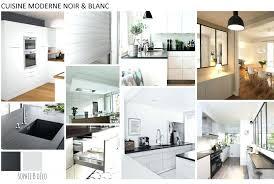 deco cuisine noir et blanc cuisine noir et blanc beautiful cuisine cuisine deco cuisine en