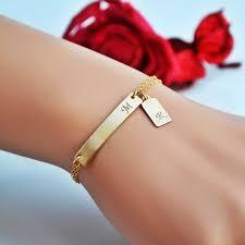 Gold Personalized Bracelets The 25 Best Personalized Bracelets Ideas On Pinterest Layered