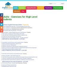 esl english exercises for adults business english idiomatic