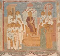 Council Of Constantinople 553 The Museum Of Dionisy S Frescoes Section Of Crosswise