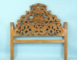 carved wood headboards rose vines headboard carved wood headboard