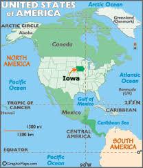 road map of iowa usa iowa map geography of iowa map of iowa worldatlas