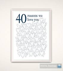 Mens 40th Birthday Decorations 40th Birthday Gift For Man 40th Birthday Gifts For Husband