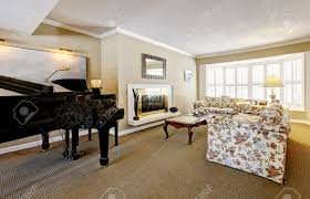 livingroom fireplace elegant living room interior with piano fireplace and anqique