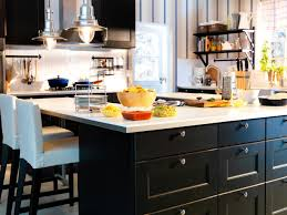 kitchen ikea kitchen wall storage woks stirfry pans roaster