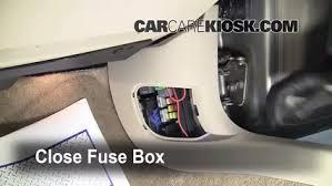 2007 Chevy Impala Interior Interior Fuse Box Location 2006 2016 Chevrolet Impala 2008