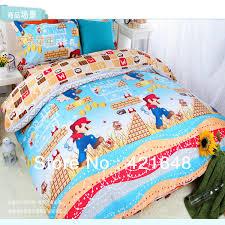 Mario Bros Bed Set 2018 Children Bunk Bed Mickey Minnie Mouse Bedding Set