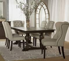 chair cm3565t sundance 5pc dining set light oak wivory fabric