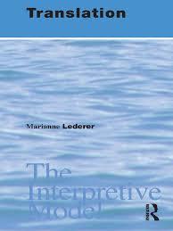 translation the interpretive model translations language