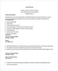 entry level investment analyst resume essay on aclu