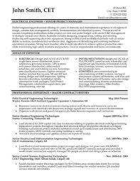 Sample Systems Engineer Resume by Instrument Engineer Sample Resume 6 Control System Engineer Resume