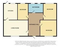 3 bedroom semi detached bungalow for sale moorland road