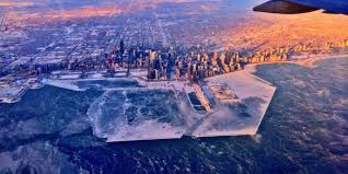 frozen chicago what the windy city looks like under ice thanks