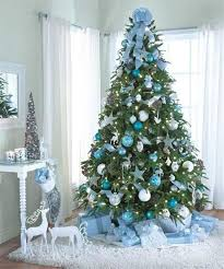 42 cool and tree decoration ideas pastel blue