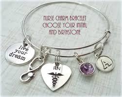nurse charm bracelet gift ideas for nurse rn charm bracelet