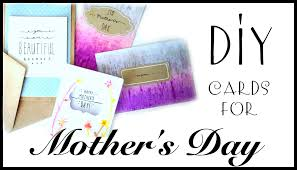 diy mother u0027s day cards easy u0026 cute youtube
