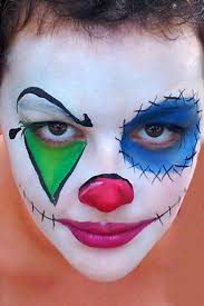 Black Eye Makeup For Halloween Best 20 Clown Face Paint Ideas On Pinterest Scary Clown Makeup