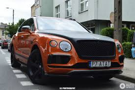 orange bentley bentayga bentley bentayga diesel 1 july 2017 autogespot