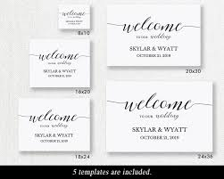wedding welcome sign template welcome wedding sign printable welcome sign template wedding