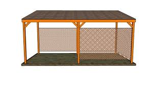 Lean To Pergola Kits by How To Build A Lean To Carport Howtospecialist How To Build