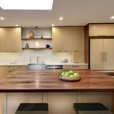 Walnut Kitchen Designs Modern Kitchen Design With Black Walnut Butcher Block Countertop