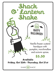 raise your spirits with our scary good halloween specials shake