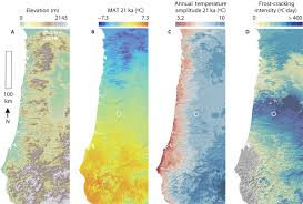 Oregon Climate Map by Frost For The Trees Did Climate Increase Erosion In Unglaciated