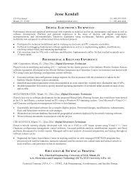 e resume exles electronics resume exles exles of resumes
