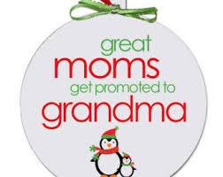 grandparent christmas ornaments grammy ornament etsy