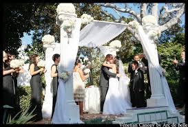 wedding chuppah rental wedding chuppah rental at darlington house la jolla ca by arc de
