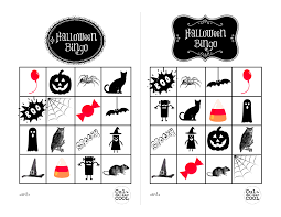 halloween bingo sheets u2013 fun for christmas