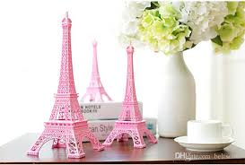 eiffel tower table centerpieces pink 3d eiffel tower model alloy eiffel tower metal