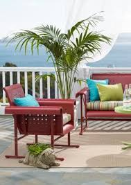 Upholstery Outdoor Furniture by Retro Outdoor Furniture Collection Mid Century Smooth And Retro