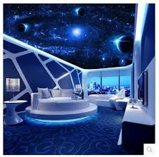 film thailand di ktv ceiling large mural 3d stereoscopic living room bedroom zenith