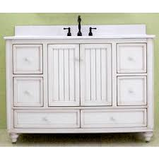 a selection of white bathroom vanities by sagehill designs for a