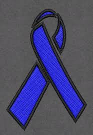 blue support ribbon awesomedorags