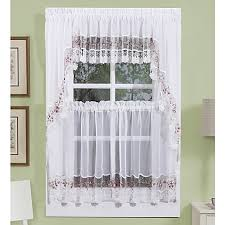 vintage curtains and valances in white rose bed bath u0026 beyond