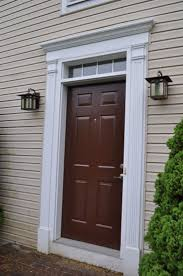 Blue Front Door Meaning by Best 25 Brown Front Doors Ideas That You Will Like On Pinterest