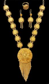necklace pictures images Yellow gold necklace set alquds jewelry jpg