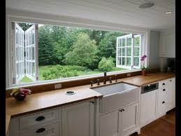 this open up full view kitchen window with full view of the back