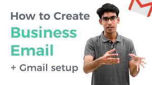 Setting Up A Business Email Address by How To Create Free Business Email U0026 Use It With Gmail Youtube