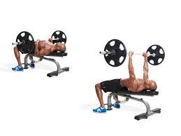 skull crusher and close grip bench men u0027s fitness